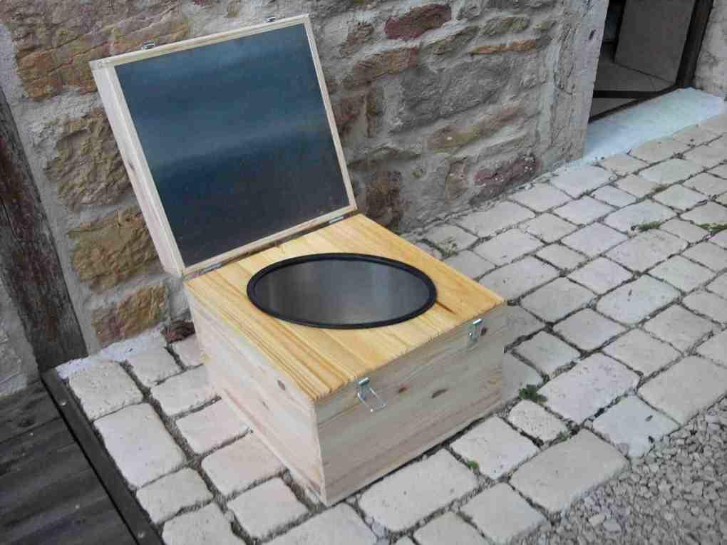 Toilette seche toilette camping toilettes pliable carton - Toilette seche camping car ...