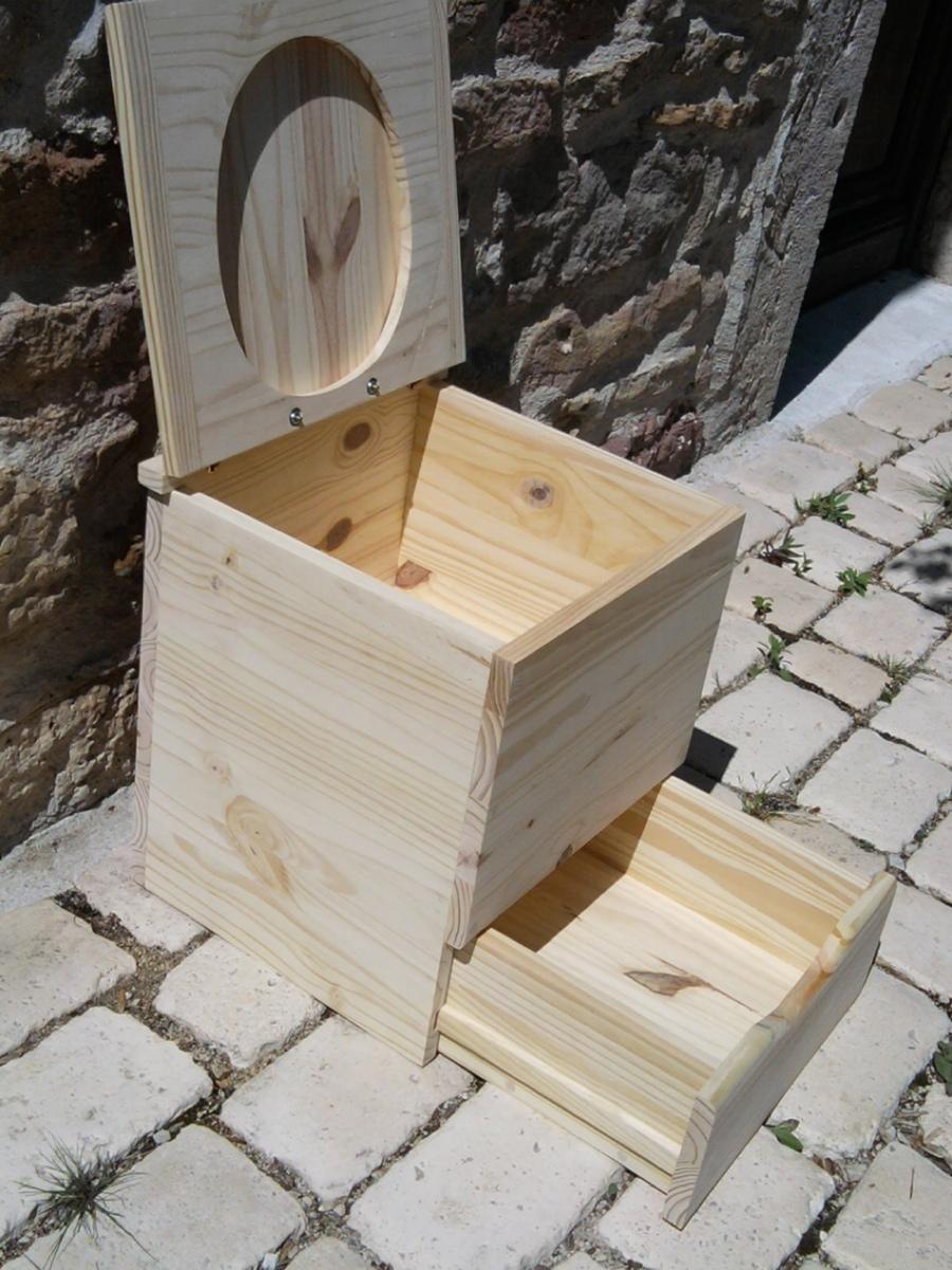 Wc de camping toilette seche livr avec seau plastique 12 litres camping toilette camping - Wc petite taille ...