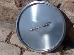 couvercle inox déclassé pour seau inox 20 litres