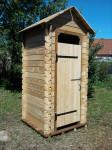 cabane toilette seche en meleze