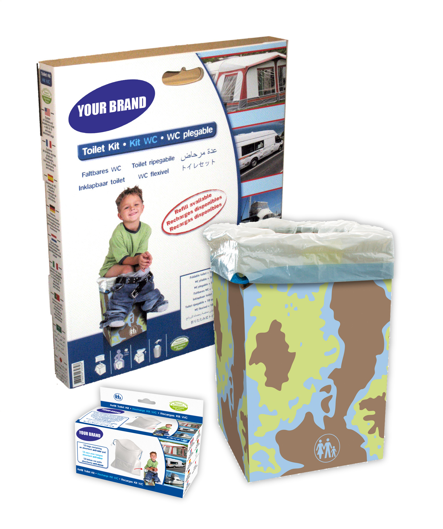 toilette s che pliable toilette seche jetable. Black Bedroom Furniture Sets. Home Design Ideas