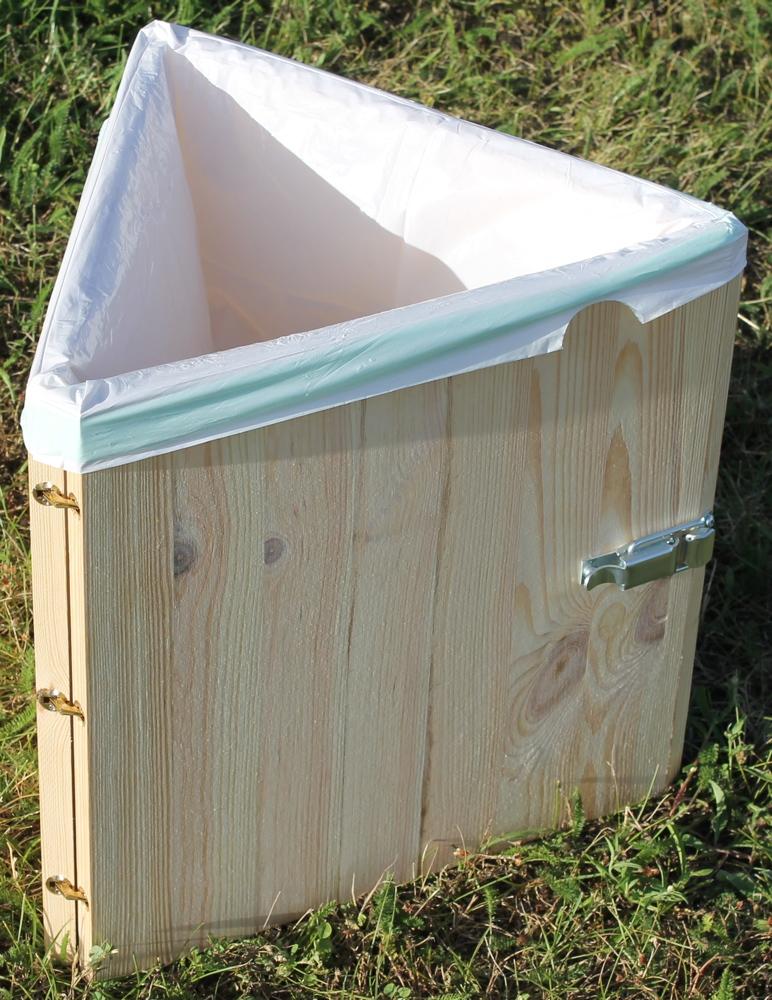 Toilette seche camping pliable transportable en bois toilettes s ches vente de kit - Toilette seche camping car ...
