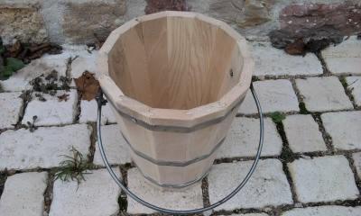 seau inox toilettes s ches vente de kit toilette s che cabane et wc de camping. Black Bedroom Furniture Sets. Home Design Ideas