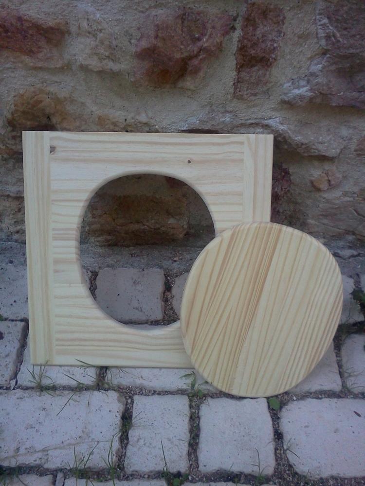 support de lunette pour toilette seche toilettes s ches. Black Bedroom Furniture Sets. Home Design Ideas