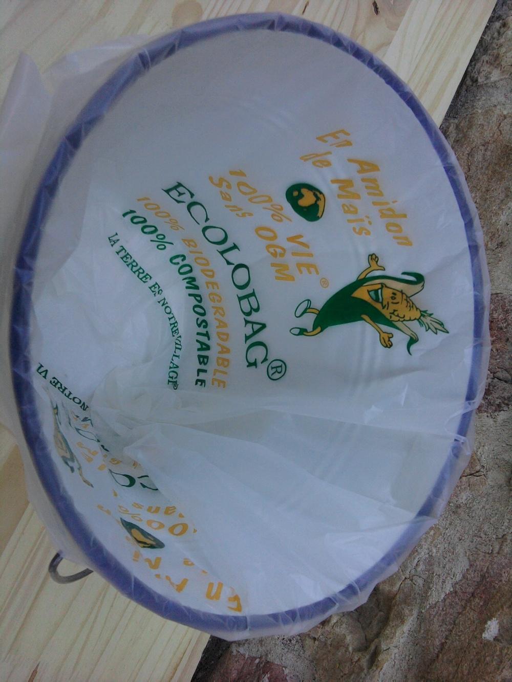 sacs poubelle compostables 35 litres pour toilette seche sac poubelle biod gradable toilettes. Black Bedroom Furniture Sets. Home Design Ideas